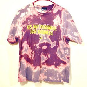 NFL MINNESOTA VIKINGS  Acid Wash T Shirt Tee M